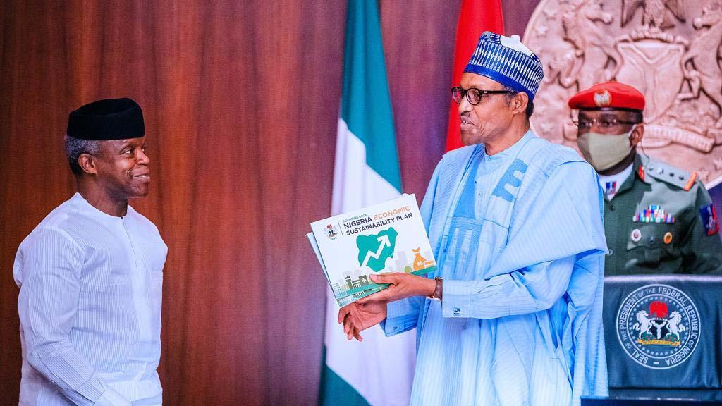 President Buhari and Osinbajo