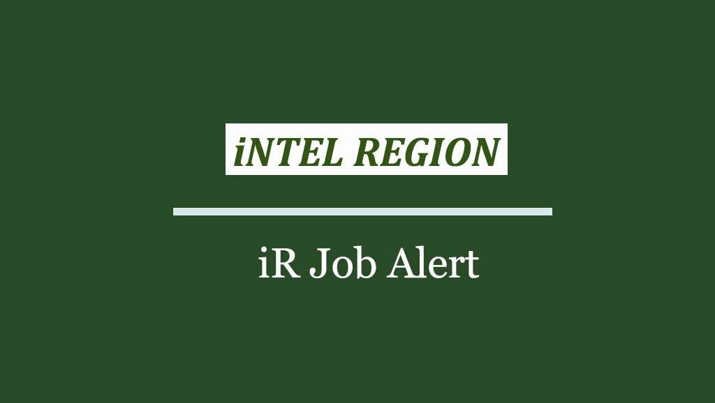 iR Job Alert