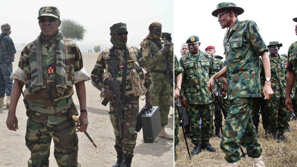 Idriss Deby and Buhari
