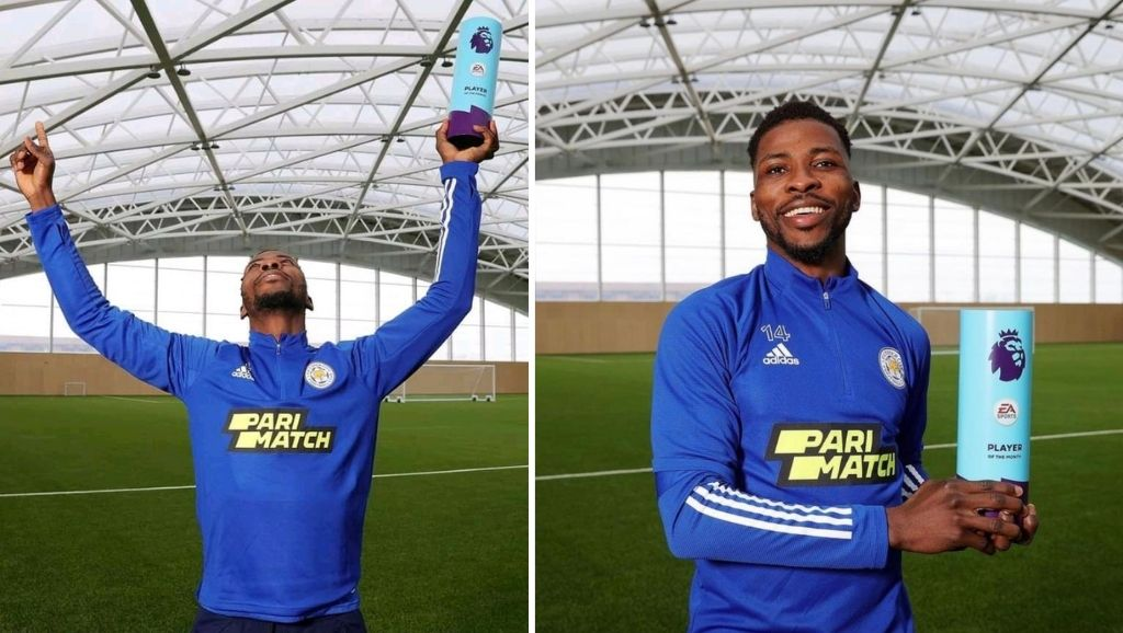 Iheanacho becomes 4th Nigerian player to win Premier League Player of the month award