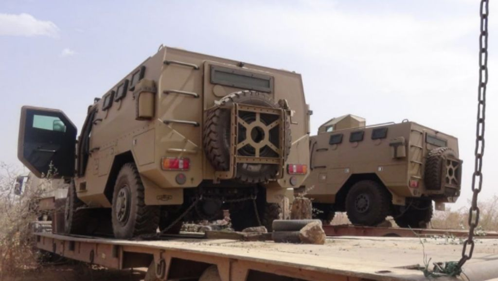 Nigerian Military Tactical Vehicles