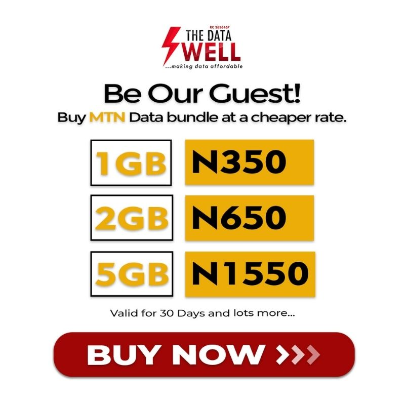 The Data Well MTN Data Prices