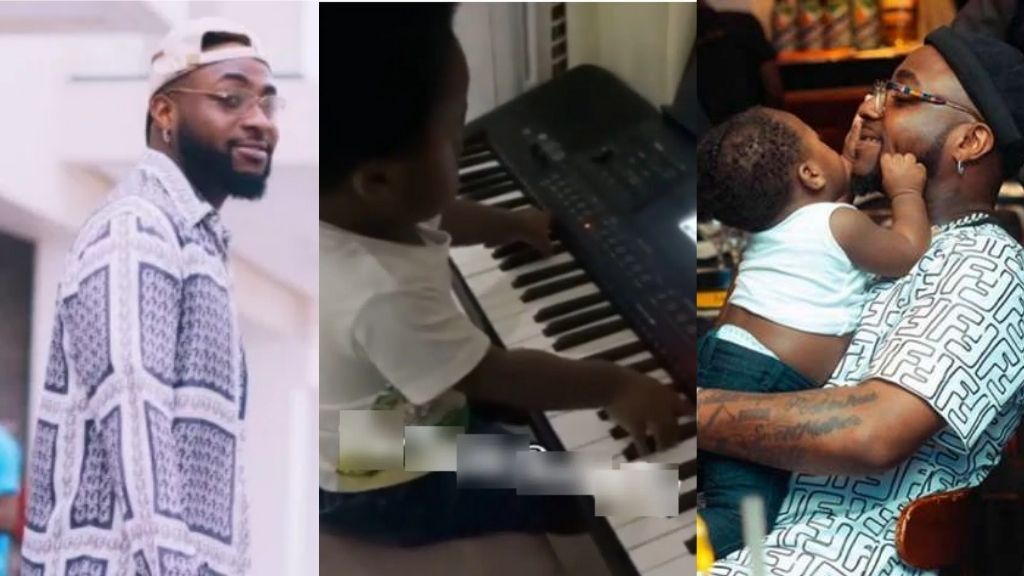 Ifeanyi spotted playing Piano