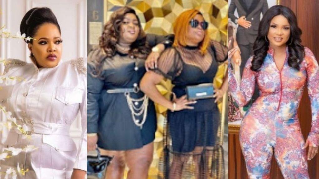Funke Akindele will not throw back stones at you – Eniola Badmus tells Iyabo Ojo, Toyin Abraham