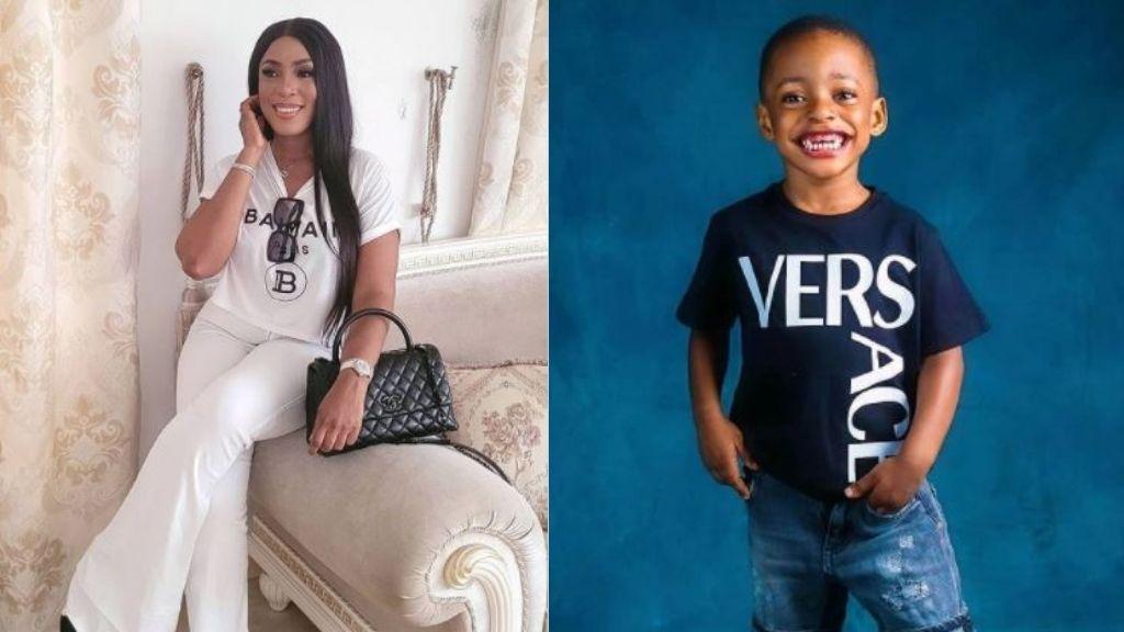 Linda Ikeji changes son