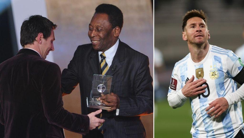 Messi breaks Pele's record