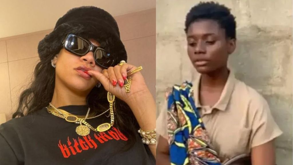 Rihanna reaches out to 17-year-old Nigerian hawker who sings with an Angelic voice