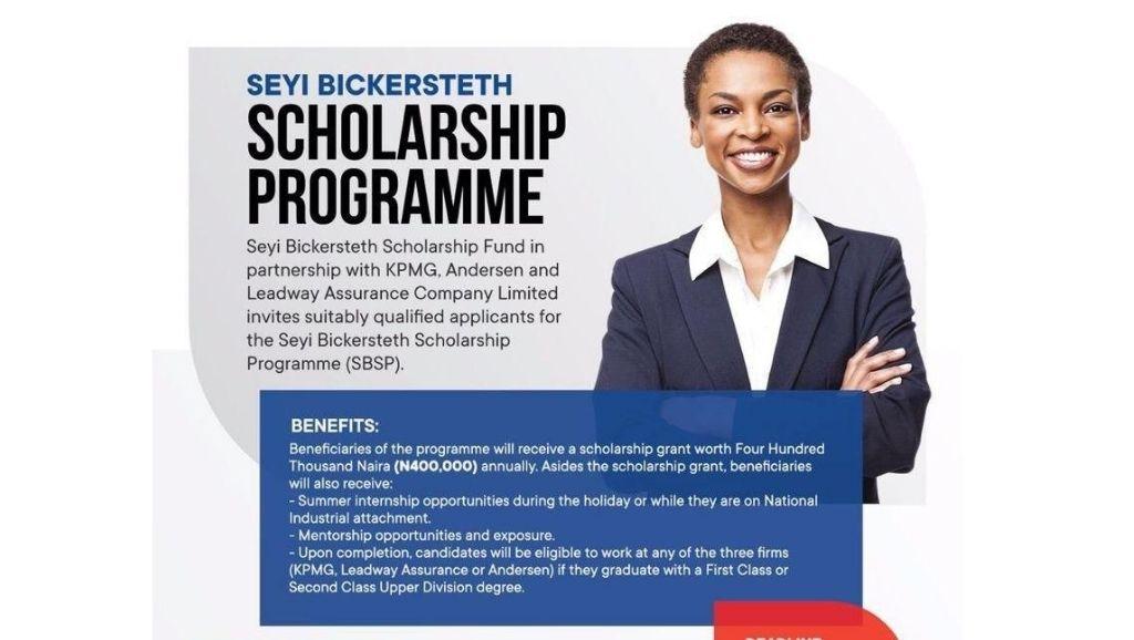 Seyi Bickersteth Scholarship Fund