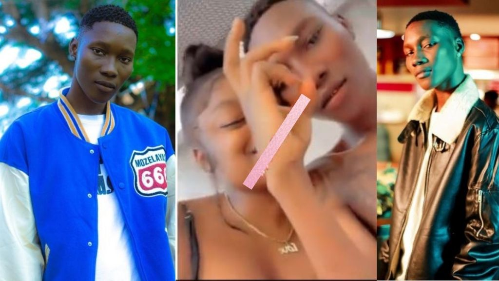Reactions as Singer Zinoleesky and his record label boss, Naira Marley's sister melts hearts